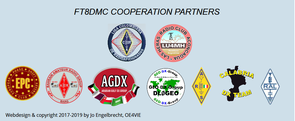 FT8DMC Cooperation Partners